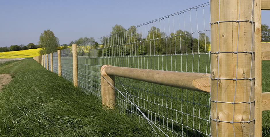 Gateways and agricultural post and rail fencing